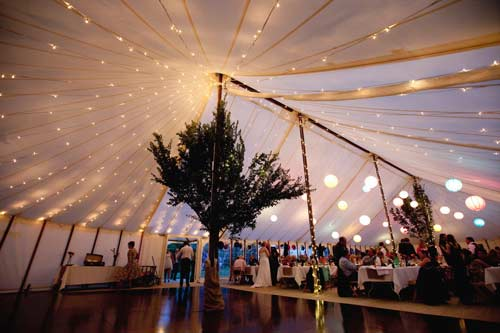 Unlined Traditional Pole Marquee Hire Gallery For Weddings