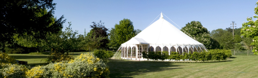 Marquee hire for wedding in Kent - Canterbury, Tunbridge Wells, Maidstone