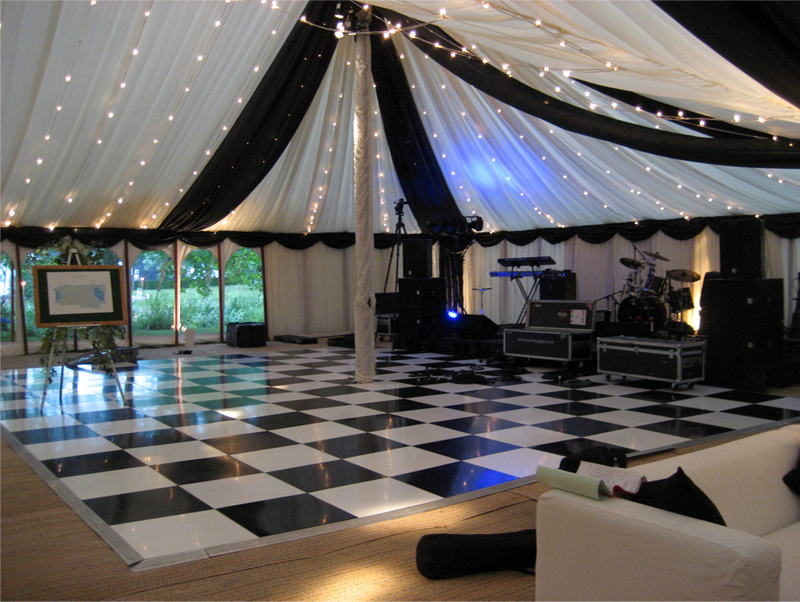 traditional pole marquee hire for weddings and parties in